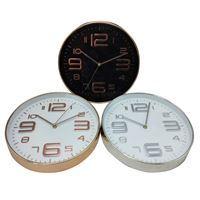 Imagen de Reloj de pared, 30cm de diámetro 3 colores, en caja