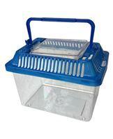 Imagen de Caja organizadora de plástico multiuso, ideal para guardar  pequeñas cosas, para sorpresitas, transporte de mascotas
