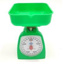 Imagen de Balanza de cocina, hasta 5kg, varios colores, en caja