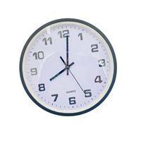 Imagen de Reloj de pared, 30cm de diámetro aro en 2 colores, en caja
