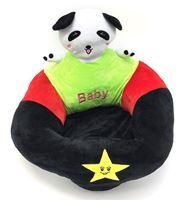 Imagen de Almohadón silla de apoyo para bebé, de peluche, con cierre, 2 diseños