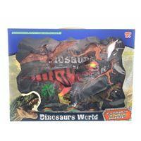 Imagen de Dinosaurios x5, con accesorios, en caja