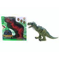 Imagen de Dinosaurio tiranosaurio con luz sonido movimiento proyector de luz, 3AA en caja