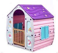Imagen de Casita para niños STARPLAY, de plástico, 102X109X90, unicornio, en caja