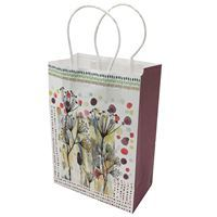Imagen de Bolsa de regalo chica, en papel opaco, PACK x12, diseños surtidos