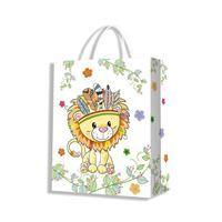 Imagen de Bolsa de regalo mediana, varios diseños, PACK x12