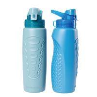Imagen de Botella deportiva de plástico boca ancha, 1000ml, varios colores