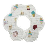Imagen de Babero cuello de algodón, 6 capas, varios diseños, PACKx20