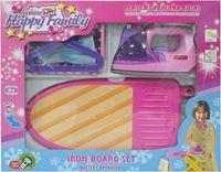 Imagen de Electrodomésticos, plancha y tabla de planchar, con luz y sonido, 2AA, en caja