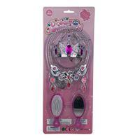 Imagen de Corona con accesorios, en blister, 2 colores