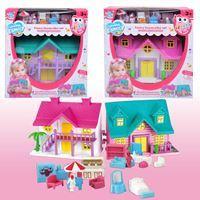 Imagen de Casa para muñecas, con accesorios, en caja, 2 colores