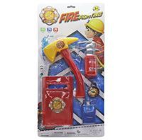 Imagen de Herramientas para bomberos, 6 piezas, en blister