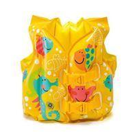Imagen de Inflable flotador chaleco salvavidas, INTE con diseño, en bolsa