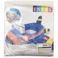 Imagen de Inflable flotador bote con asiento, 3 diseños, en bolsa, INTEX