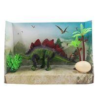 Imagen de Dinosaurio stegosaurio con accesorios, en caja