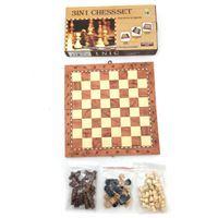 Imagen de Ajedrez, damas backgammon, en caja